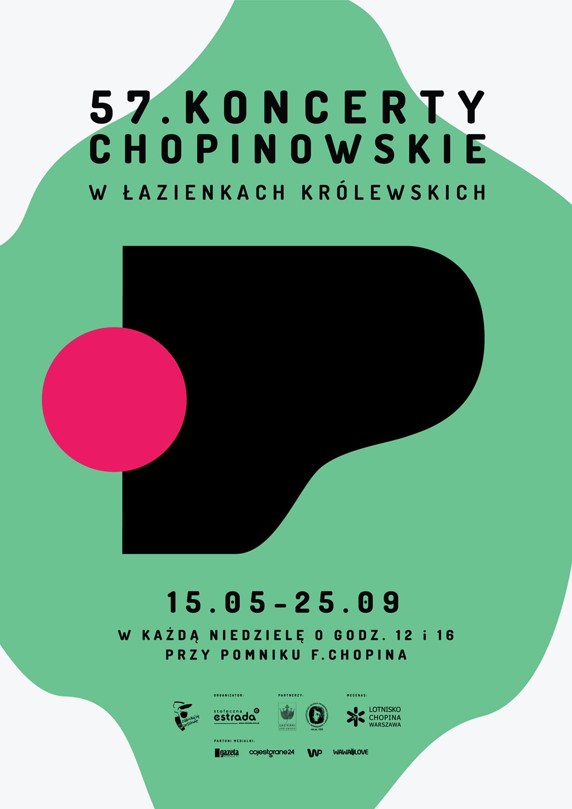 Kohe Koncerty Chopinowskie Plakat Kohe Studio Kreatywne